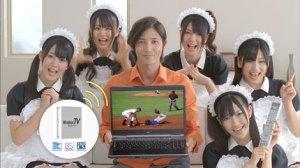 Left to right: Ohta Aika, Hirajima Natsumi, Kikuchi Ayaka, Watanabe Mayu, Nakagawa Haruka